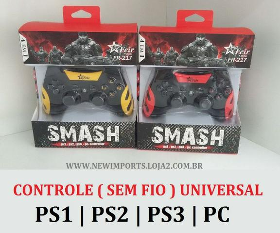 Controle sem fio ( PS1,PS2,PS3,USB)