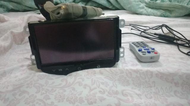 Central multimidia com tv e Controle Tracker