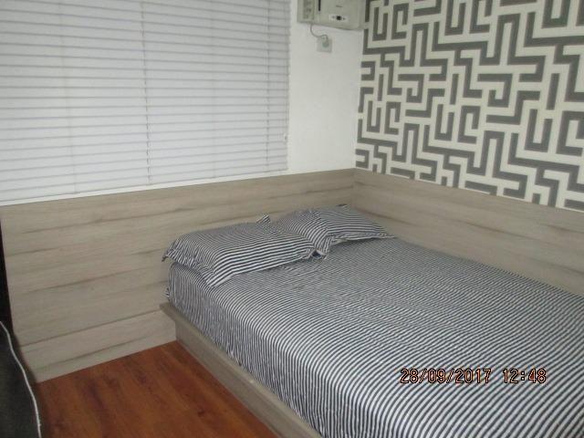 Excelente Apartamento duplex 3 quartos com armários, espaço gourmet e piscina - Foto 16