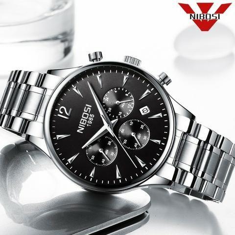 1a157fbb282 Relógio Masculino Nibosi 2326-1 Original 30 Metros - Bijouterias ...