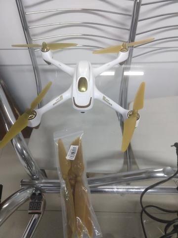 Drone Hubsan com GPS semi profissional - Foto 4