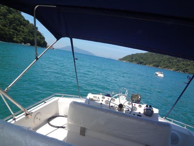 Lancha obra Capri 32 Fly - Barco de represa! Oportunidade única!! - Foto 14
