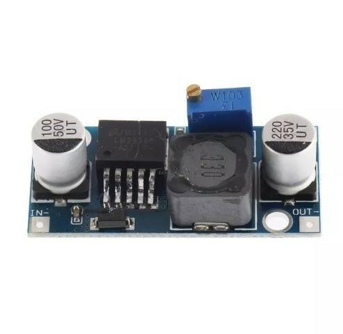 Regulador De Tensão Lm2596s Dc-dc Step-down