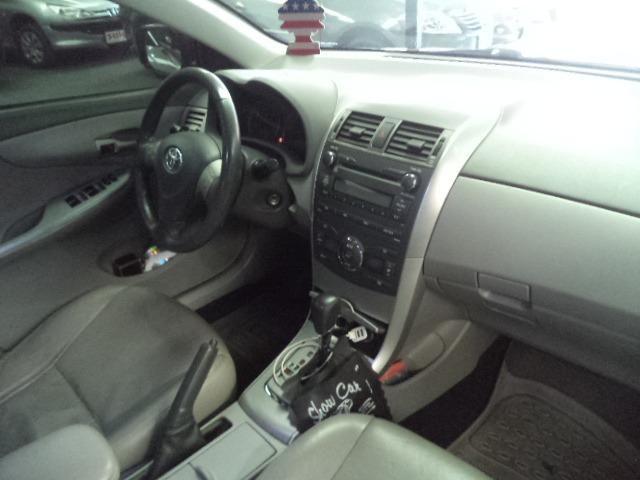 Corolla Xei 2.0 Automatico Flex 2011 Azul Completo Couro Veja!!! - Foto 5