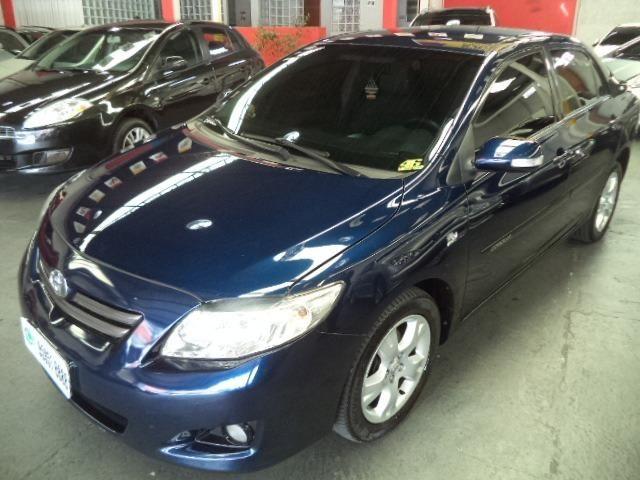 Corolla Xei 2.0 Automatico Flex 2011 Azul Completo Couro Veja!!! - Foto 2