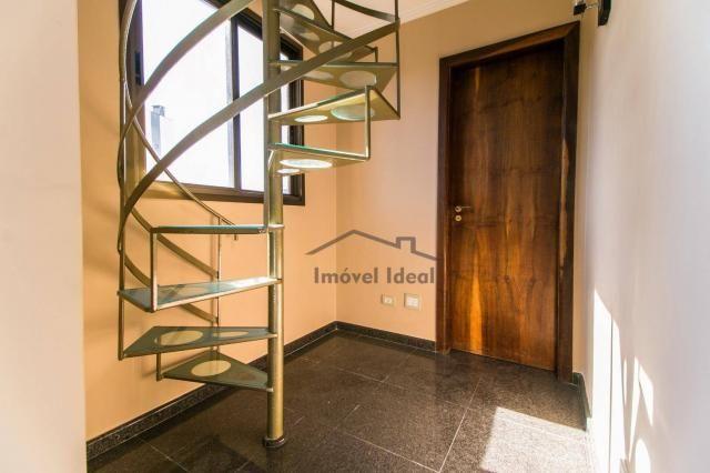 Cobertura com 4 dormitórios à venda, 564 m² por R$ 2.300.000 - Alto da Glória - Curitiba/P - Foto 14