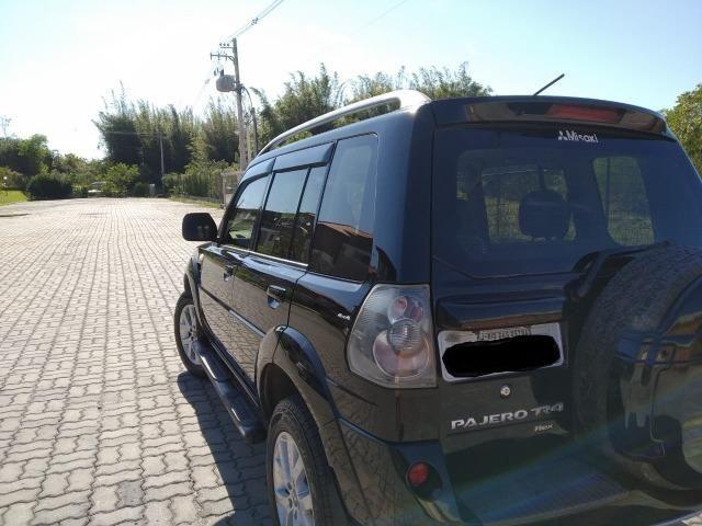 Pajero TR4 2012 automático, completo, GNV, 2° dono! - Foto 6