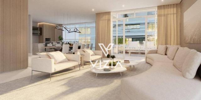 Cobertura com 4 dormitórios à venda, 417 m² por R$ 6.850.788,00 - Cabral - Curitiba/PR