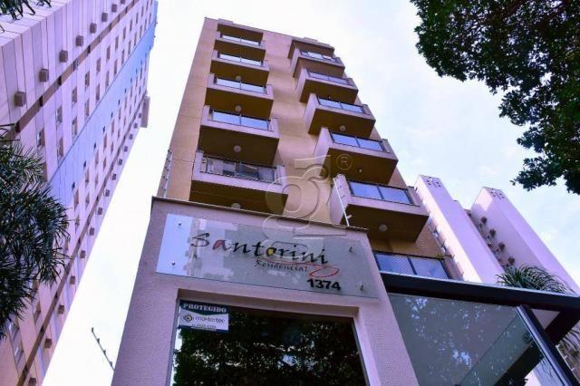 Apartamento com 2 dormitórios à venda, 66 m² por R$ 220.000 - Edificio Santorini - Centro