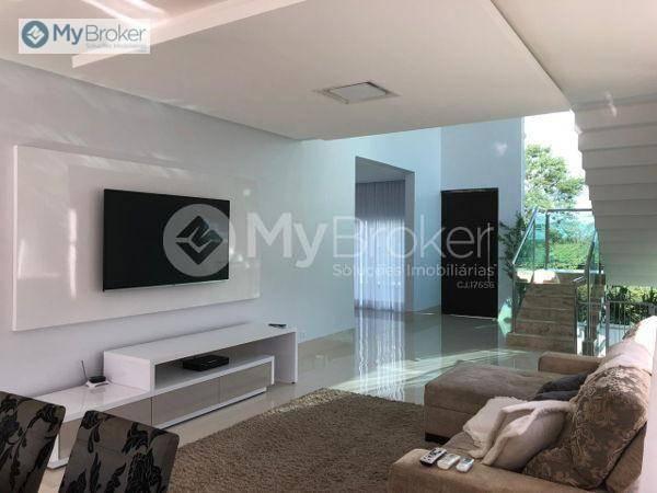 Casa com 4 dormitórios à venda, 350 m² por R$ 1.700.000,00 - Condomínio do Lago - Goiânia/