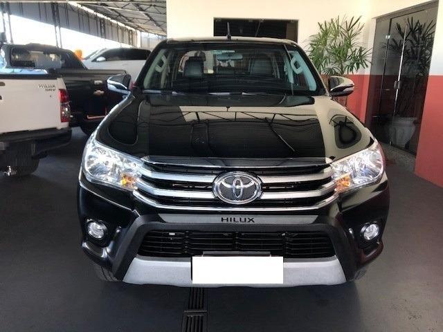 Toyota hilux cabine dupla hilux 2.8 tdi srv cd 4x4 (aut) 2017 - Foto 2