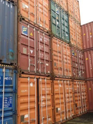 Container 40 pés Dry DC
