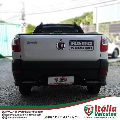 Fiat Strada 1.4 Hard Working CS 2018/19. IPVA 2020 Pago - Foto 5