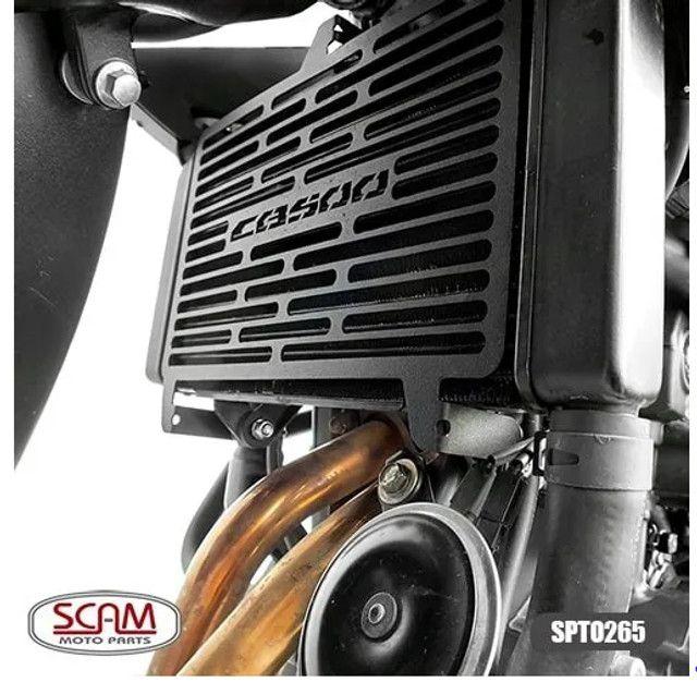 Protetor Radiador Cb 500f / cbr 500r 16/20 - Scam - Foto 2