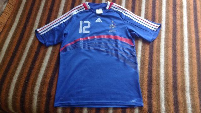 Camisa França Henry 07/08 - Foto 4