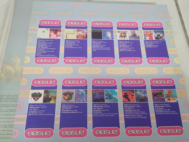 Ld laserdisc Erasure - Foto 5