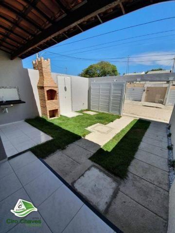 Casa com 2 dormitórios à venda, 81 m² por R$ 140.000,00 - Jabuti - Itaitinga/CE - Foto 3