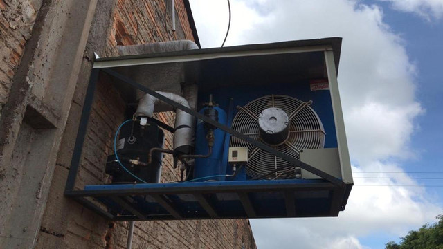 Câmara fria + Motor - Foto 5