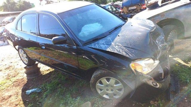 Sucata Honda Civic Lx 1.7 2002(retirada de peças )