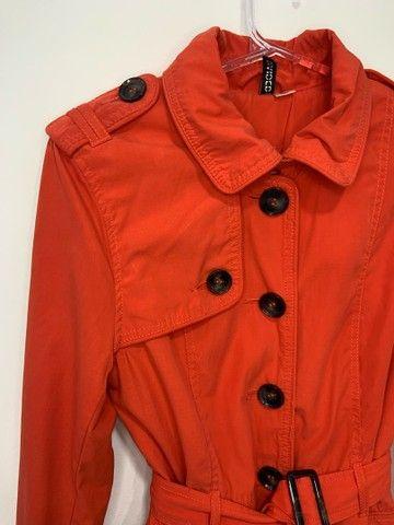 Trench coat laranja h&m  - Foto 3