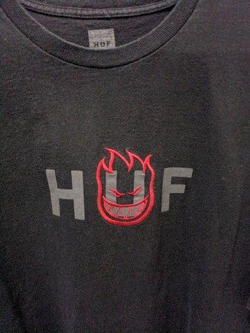 Camiseta Huf x Spitfire tamanho GG - Foto 2