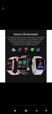 Smart whatch (pulseira inteligente)  - Foto 4