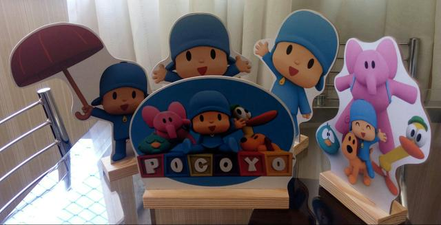 Kit Display tema Pocoyo