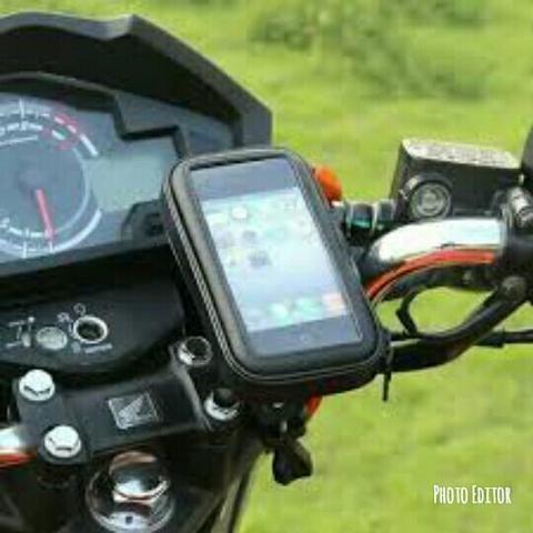 Suporte Porta Celular Gps De Guidão Para Bike Moto
