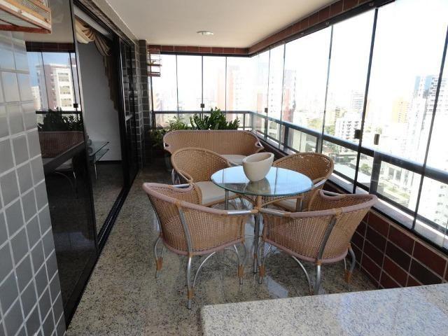 AP0145 - Apartamento 220m², 3 suítes, 4 vagas, Ed. Golden Place, Aldeota - Fortaleza-CE - Foto 2