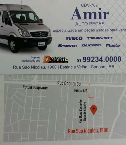 Apara Barro Dianteiro LD Transit Cód.YC1516A562AK - Foto 3