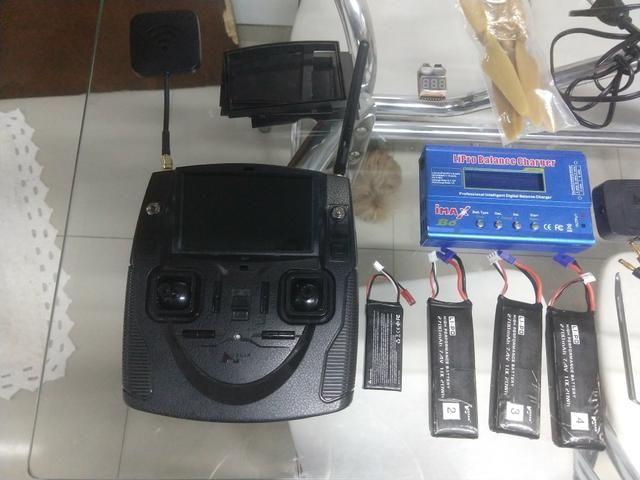 Drone Hubsan com GPS semi profissional - Foto 3