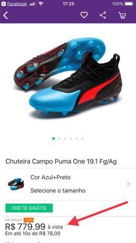 77cfee108ec9c Chuteira Puma One 19.1 Fg-Ag ORIGINAL - Esportes e ginástica ...