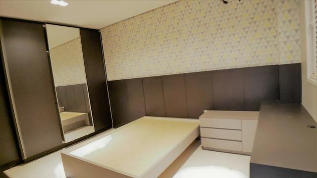 Sobrado 4 Suítes + Escritório, 351 m², semi mobiliado, c/ lazer na 404 Sul - Alto Padrão - Foto 10