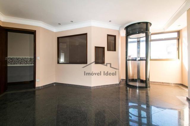 Cobertura com 4 dormitórios à venda, 564 m² por R$ 2.300.000 - Alto da Glória - Curitiba/P - Foto 4