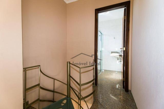 Cobertura com 4 dormitórios à venda, 564 m² por R$ 2.300.000 - Alto da Glória - Curitiba/P - Foto 13