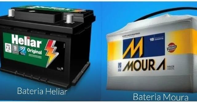 Bateria Moura e Heliar 60 ah