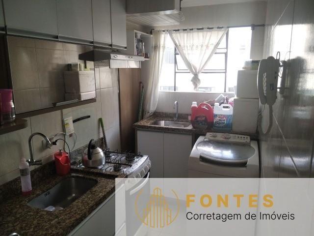 Apartamento com 3 dormitórios, sala, cozinha, 1 vaga de garagem, armários sob medida na co - Foto 2