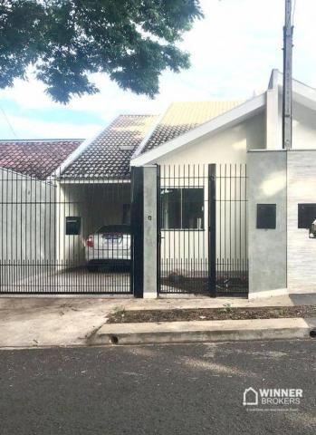 Casa com 3 dormitórios à venda, 95 m² por R$ 330.000 - Parque das Grevíleas - Maringá/PR