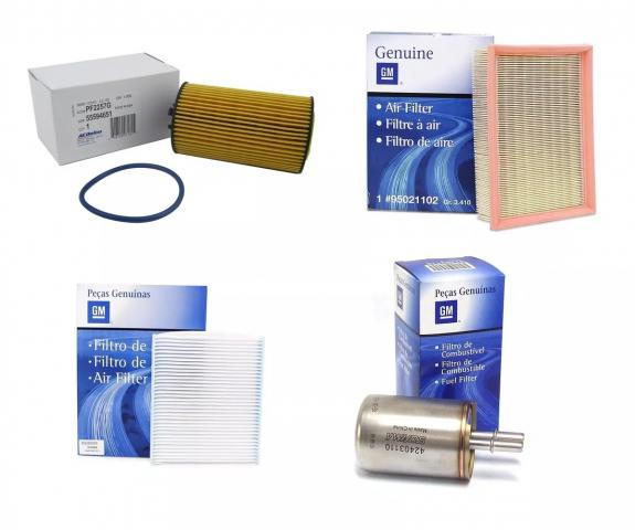 Kit Filtros Originais Gm Original Gm 42403110