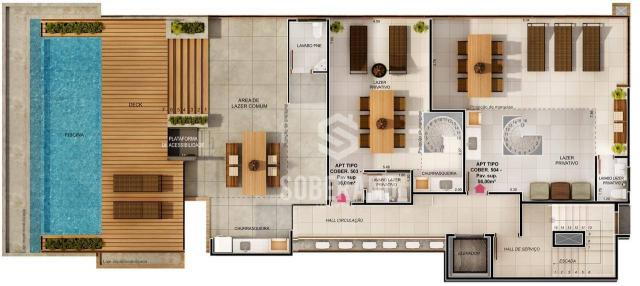 Apartamento com 1 dormitório à venda, 39 m² por R$ 240.000 - Intermares - Cabedelo/PB - Foto 8