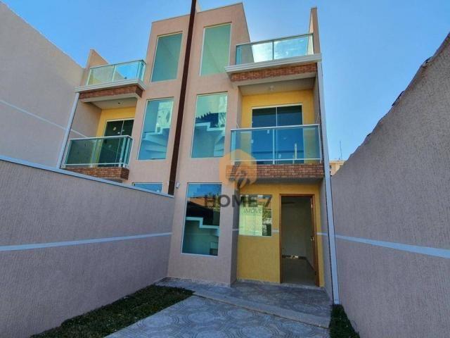 Sobrado à venda, 90 m² por R$ 320.000,00 - Sítio Cercado - Curitiba/PR