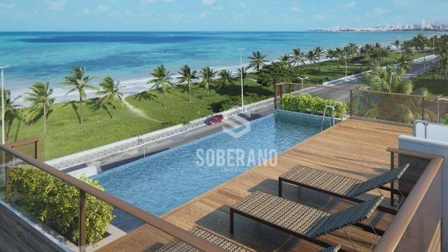 Apartamento com 1 dormitório à venda, 39 m² por R$ 240.000 - Intermares - Cabedelo/PB