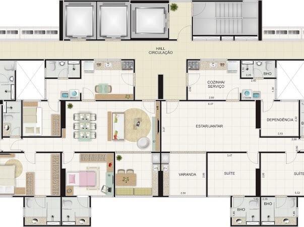 Apartamento MARAVILHOSO à venda no Alto Branco - Campina Grande - Foto 12