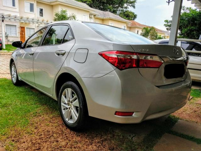 Toyota Corolla automático IPVA TOTAL PAGO - Foto 5