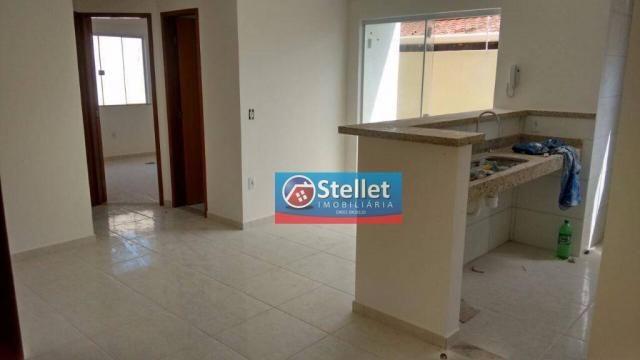 Apartamento com 2 dormitórios à venda, 70 m² por R$ 200.000,00 - Atlântica - Rio das Ostra - Foto 6