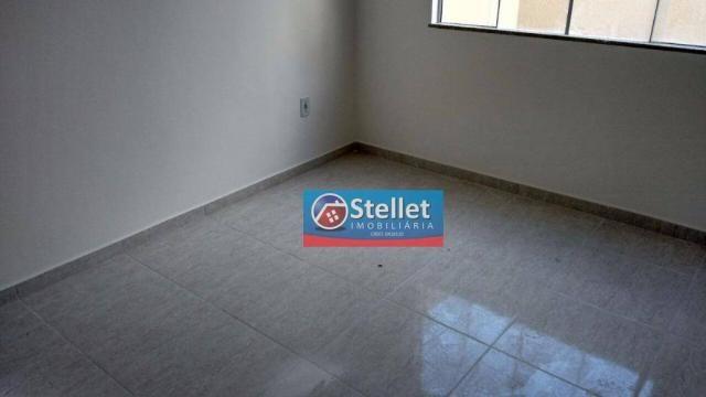 Apartamento com 2 dormitórios à venda, 70 m² por R$ 200.000,00 - Atlântica - Rio das Ostra - Foto 11