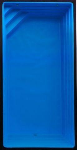 Ju - Piscina de Fibra 5,60 Retangular* Instalada *24 x No Boleto s/ Entrada - Foto 2