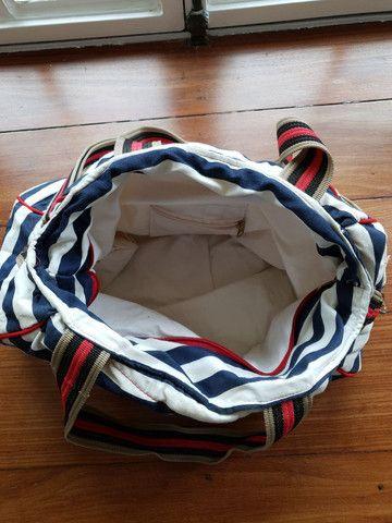 Bolsa grande listrada - Foto 2