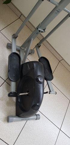 Elíptico, simulador de caminhada da caloi - Foto 4