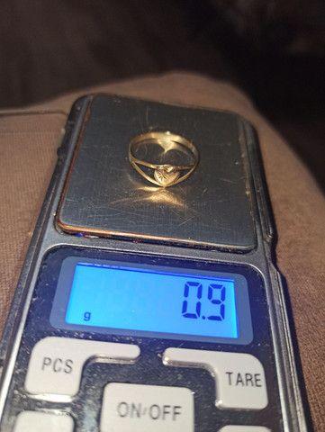 Anéis em ouro 10k (416) R$ 235.00 a grama - Foto 5